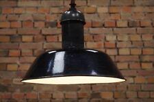 VINTAGE Lámpara de techo metal Bauhaus emaile iluminación 20 diseño INDUSTRIA