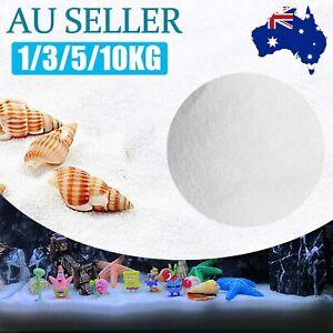 UP10kg Aquarium White Fine Sand Substrate Pet Aquarium Fish-Tank Reptile Bird AU