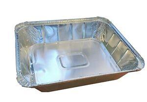 "Large Aluminium Gastro Foil Baking Tray 12"" x 10"" x 2.5"""