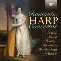 Staatskapelle Dresde - Romantic Harp Concertos [New CD]
