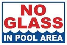 NO GLASS- SIGN - #PS-449