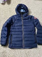 Canada goose Boys Down Filled Puffer Coat Jacket Hoodie Pbi Sherwood Hoody XL 18
