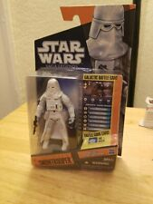 Star Wars Saga Legends 2010 SL23 SNOWTROOPER Action Figure Hoth Stormtrooper NEW