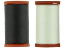 Coats & Clark Extra Strong Upholstery Thread - Black & White (2 Pack)