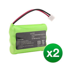 Replacement For At&T 27910 Cordless Phone Battery (700mAh, 3.6V, Ni-Mh) - 2 Pack