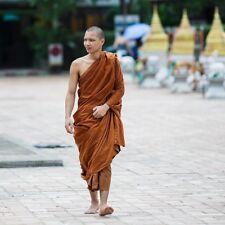 Buddhist Monk Priest Theravada Full Robe Set 7pcs Thai Asian Men Body Height 6ft