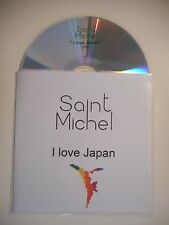 SAINT MICHEL : I LOVE JAPAN ♦ CD SINGLE PORT GRATUIT ♦