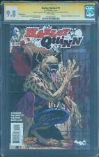 Harley Quinn 11 CGC 3X SS 9.8 Monsters Variant Conner Palmotti Hardin 1 Movie