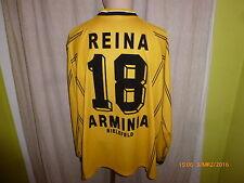 Arminia bielefeld Reusch manga larga saliente camiseta 99/00 + nº 18 reina talla XXL Top