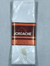 (6) Vintage JORDACHE Men's Handkerchiefs White NEW