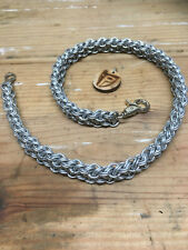 Chainmail Wallet Chain - Kinged Viperus - Handcrafted - 16 Gauge - Galvanized