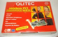 OLITEC CARTE MODEM PCI 56000/V92 READY NEUVE DANS CA BOITE D'ORIGINE.