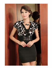 Polyester Polka Dot Stretch, Bodycon Unbranded Dresses for Women