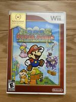 SUPER PAPER MARIO For Nintendo WII ( 2007 ) Complete Tested