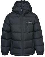 Trespass Tuff Boys Puffa Jacket Kids Padded 2 - 12 yrs School Coat New Season