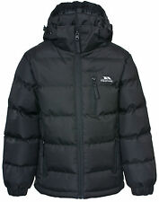 Junior Boys Trespass Tuff Waterproof Jacket in Black From Get The Label 7-8 Mcjkcai20004jblk151