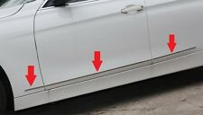 BMW 3 Series F30 320 328 2013 2014 Stainless steel door Side Molding Chrome Trim