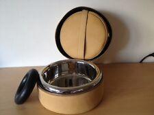 New - Luxury Dog Kit GHISÒ - Kit para perro - Leather Wood Steel - 100% Genuine