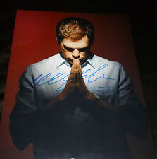 "DEXTER (Praying) Authentic Hand-Signed ""Michael C.Hall"" 11x14 (PROOF)"