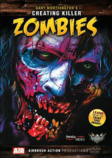 Creating Killer Zombies DVD Gary Worthington by Airbrush Action, Createx Wicked