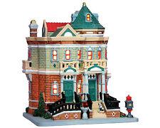 Lemax Paddy's Brownstone, Christmas Village, light houses LED, Christmas Decorat...