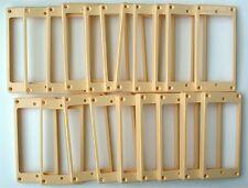 Guitar Parts HUMBUCKER MOUNTING TRIM RINGS Bridge Neck - CREAM IVORY - LOT of 20