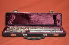 W T Armstrong Model 104 Student Flute in Hard Case, Excellent Condition