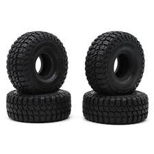 """4pcs 1.9"""" 127mm Rc Rock Crawler Rubber Tires Tyre 1/10 For SCX10 D90 TRX4 TRX6"""