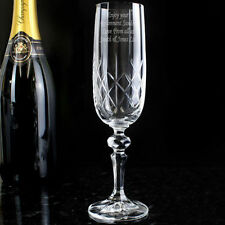 Unbranded Champagne Flutes Glasses with Presentation Box
