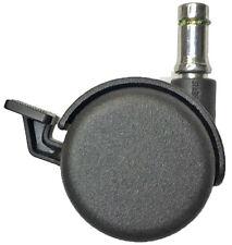 Office Furniture Chair Caster Manual Brake 7/16 x 7/8 Grip Ring Stem 5 pc Set