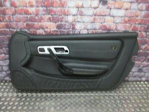 Mercedes-Benz R170 SLK Türverkleidung rechts A1707204070 Leder schwarz 9B97