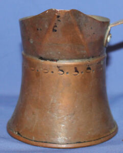 Antique Hand Made Copper Turkish Coffee Pot