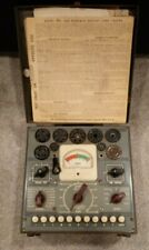 Jackson Model 634 Vintage Tube Tester with Instruction Manual