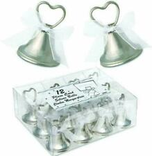 Silver Bells Place Card Holders Working Bell Christmas Wedding Favour Decoration