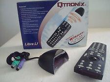 QTRONIX Multimediafernbedienung Funktastatur Presenter Libra LI Infrarot