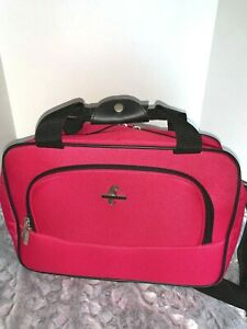 Atlantic Travel Pink Duffle Bag Carry On Expandable New w/o tags 15 x 10 x 6