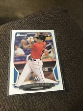 2013 Bowman Christian Yelich Rookie Card #40 Milwaukee Brewers