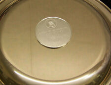 """Sterling Silver - James Wyeth - """"Along The Brandywine"""" 8"""" Plate in Display Box"""