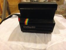 Vintage Polaroid One Step 600 Land Camera Rainbow Stripe
