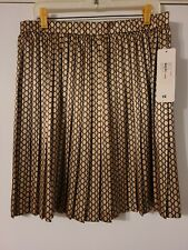Bentley A Skirt Geometric Print, Softly Gathered, Back Zip, Knee Length 12