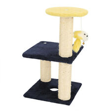 Large Cat Kitten Tree Activity Centre Scratch Scratching Post Climbing Toy Bed 1