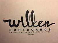 "Wilken Surfboards""logo Print ""1960-90 Santa Monica Surf(jacobs,velzy,Webber Bing"