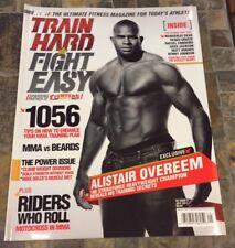 7/11 TRAIN HARD FIGHT EASY MAGAZINE - ALISTAIR OVEREEM UFC -MMA - US Edition