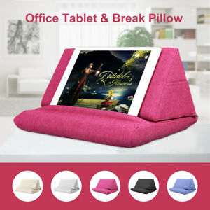 Foldable Tablet Pillow Stand Foam Book Rest Reading Bed Support Cushion For