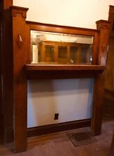 3 matching Oak Fireplace Mantles