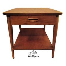 "New listing Vintage Lane Altavista 28"" Mid Century Modern Square Wood Coffee Side/End Table"