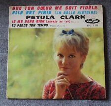 Petula Clark, que ton coeur me soit fidele,  EP - 45 tours