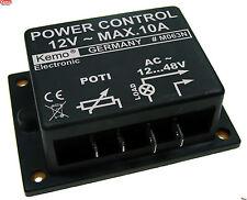 KEMO M063N Leistungsregler Drehzahlregler Motordimmer 12-48 V~POWER-Control Unit