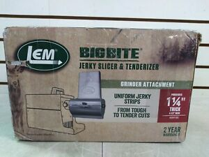 LEM Jerky Slicer & Tenderizer Grinder Attachment (Shelf 57)(J)