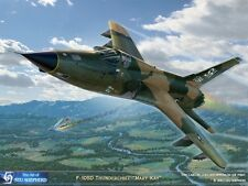 "ART PRINT: F-105D Thunderchief ""Mary Kay""  - Print by Shepherd"